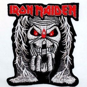 Iron Maiden Patch Band Badge Rock Metal Music DIY